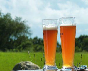 kaltes Bier dank Hopfenhöhle